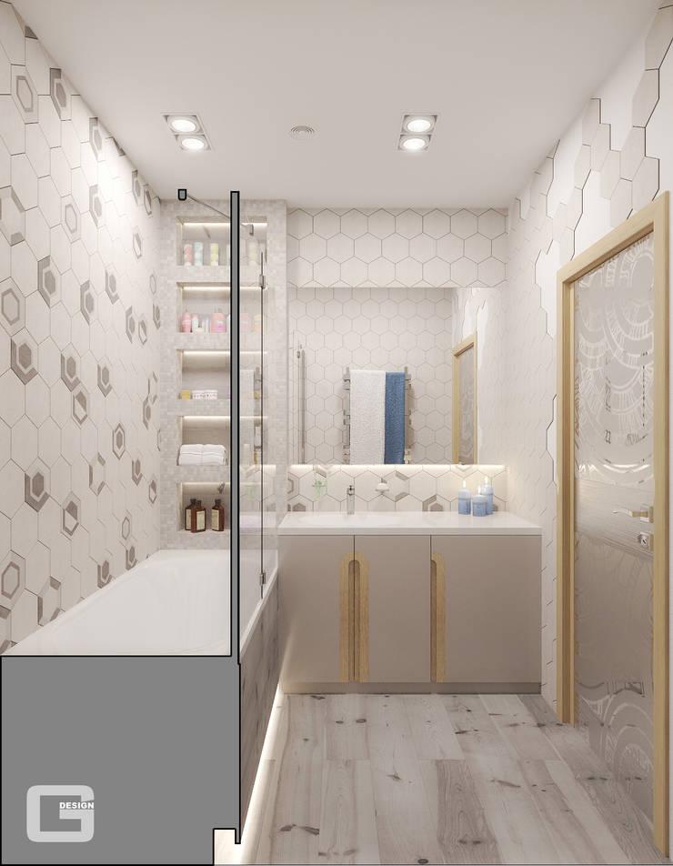 Bathroom by Giovani Design Studio, Scandinavian