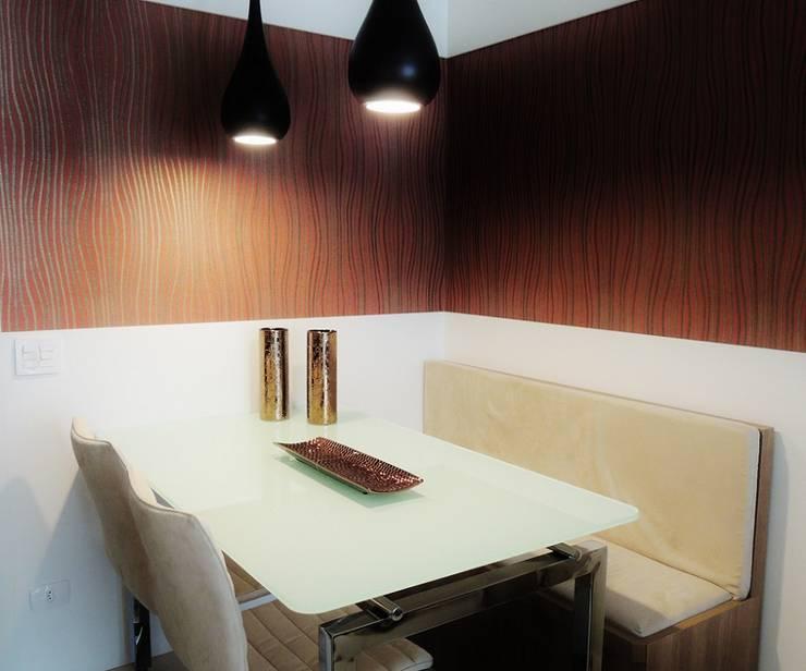 Chácara Inglesa – SP : Salas de jantar  por Studio LK Arquitetura e Interiores