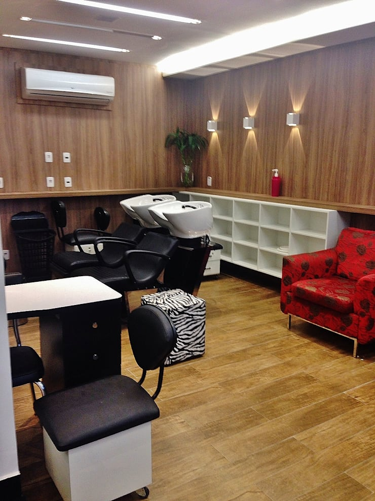 Spa de estilo  de Studio LK Arquitetura e Interiores,