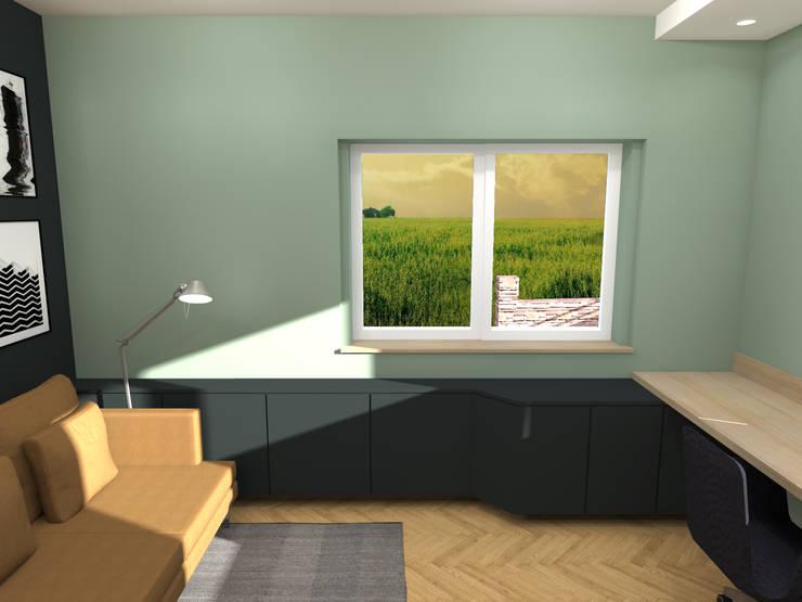 Aménagement décoration d un bureau strasbourg par ektor studio
