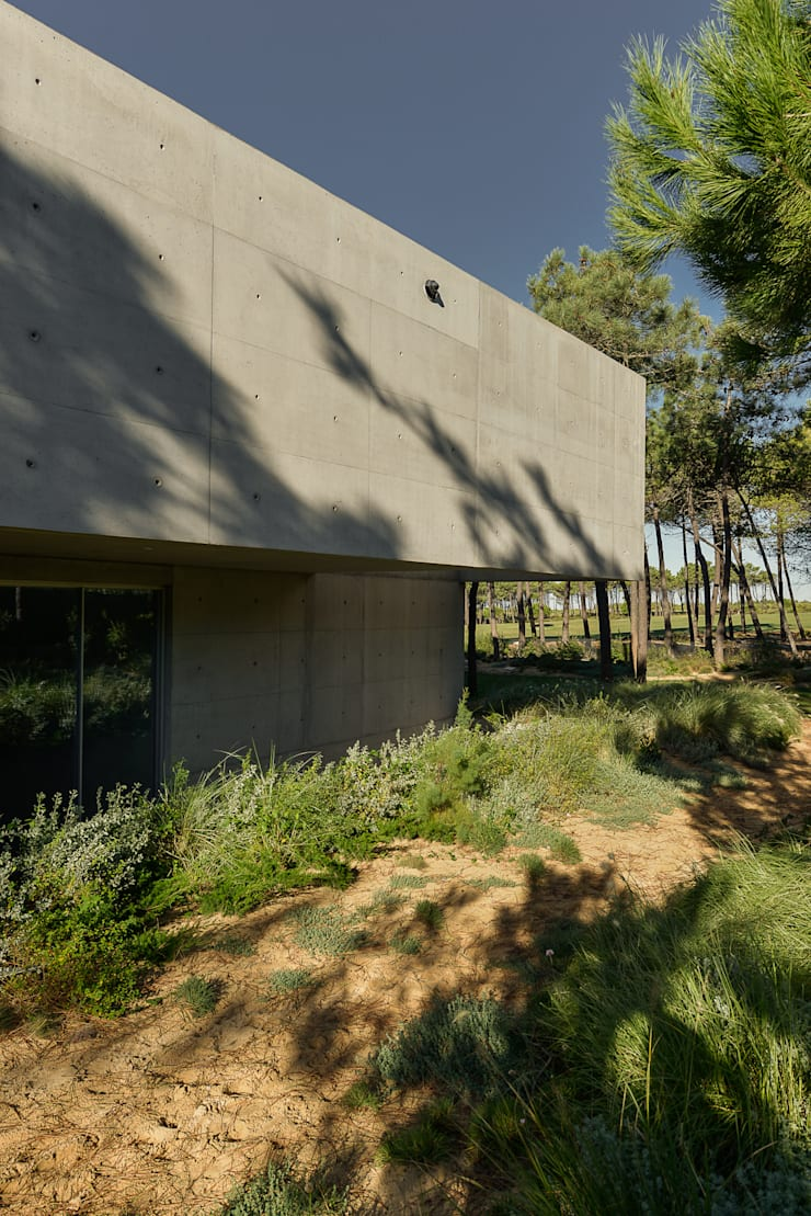 The Wall House: Janelas   por guedes cruz arquitectos