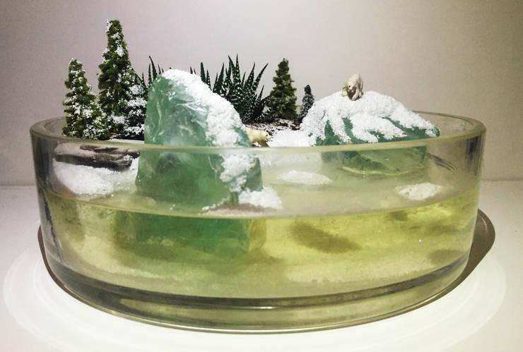 Terrarium love – Polar Bear Terrarium:  tarz İç Dekorasyon