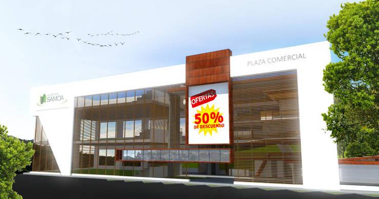 Торговые центры в . Автор – Jorge Osorio Arquitecto