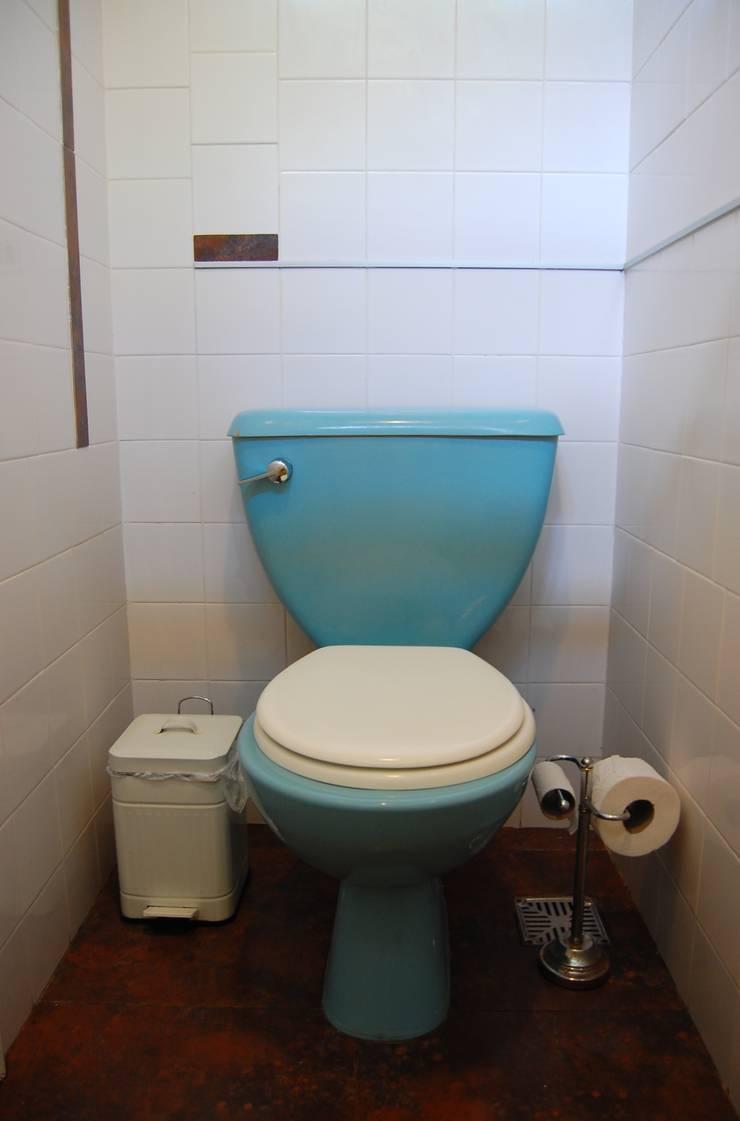 Ванные комнаты в . Автор – Guadalupe Larrain arquitecta, Лофт