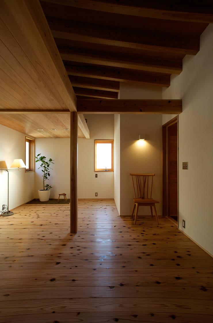 毛見の家: 辻健二郎建築設計事務所が手掛けた和室です。