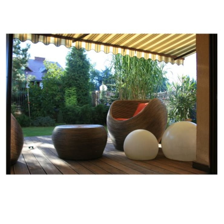 Świecące kule.: styl , w kategorii Balkon, weranda i taras zaprojektowany przez Ekotechnik24.pl - lampy na indywidualne zamówienie