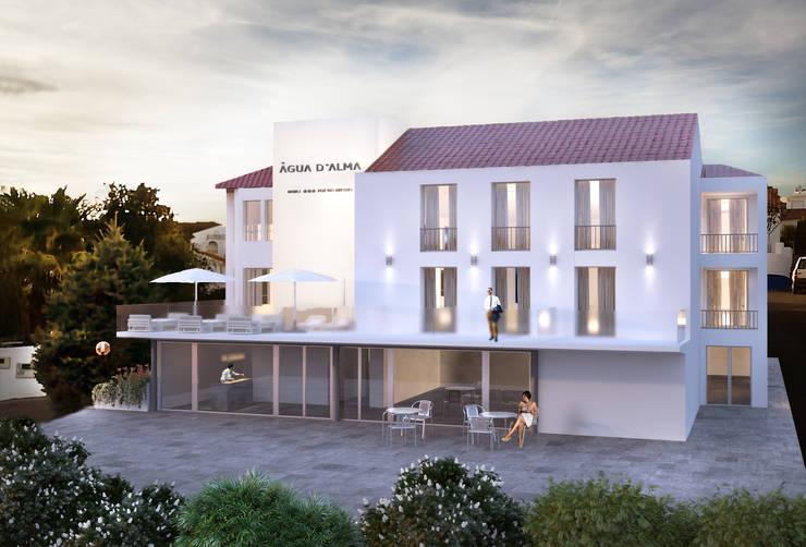 Exterior Front View: Hotéis  por 3DYpslon