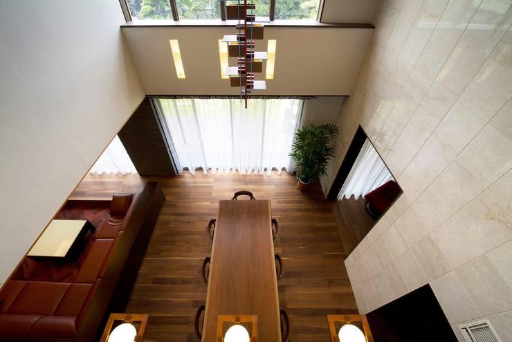 Projekty,  Jadalnia zaprojektowane przez 有限会社 光設計