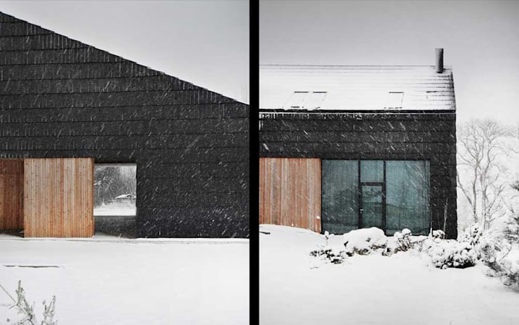 Casas estilo moderno: ideas, arquitectura e imágenes de INTERURBAN Moderno