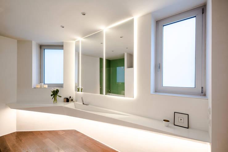 modern Bathroom by Who Cares?! Design