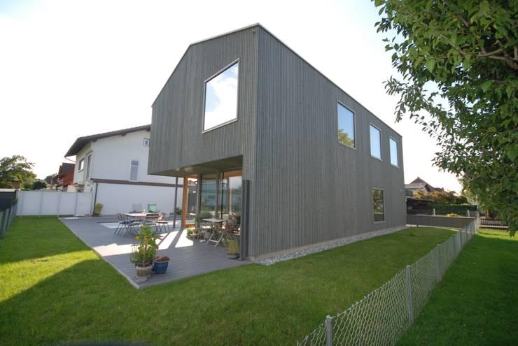 Houses by schroetter-lenzi Architekten, Modern Wood Wood effect
