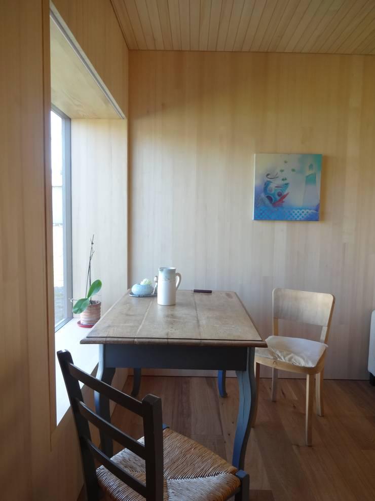 Study/office by schroetter-lenzi Architekten, Modern Wood Wood effect
