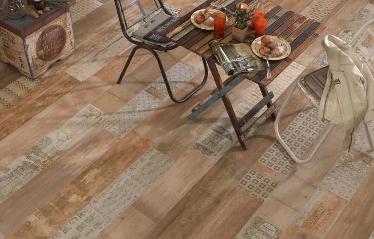 Płytki drewnopodobne Peronda Seawood Braque: styl , w kategorii Salon zaprojektowany przez Kolory Meksyku