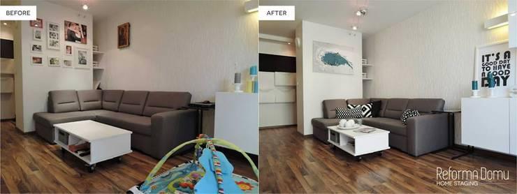 Before - After: styl , w kategorii  zaprojektowany przez Reforma