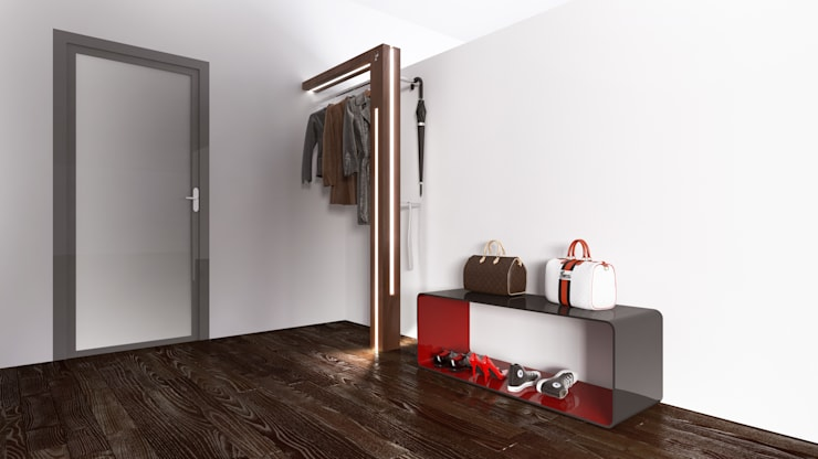 modern Dressing room by Who Cares?! Design