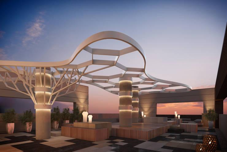 Torre Moncalieri:  de estilo  por HMA Desarrolladores De Proyectos,