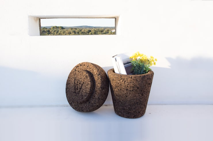 POT is Plant on top: Varanda, marquise e terraço  por Varas Verdes