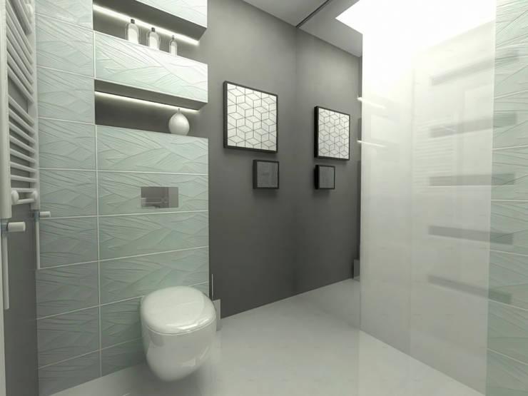 Structured: styl , w kategorii Łazienka zaprojektowany przez Arch/tecture,Nowoczesny