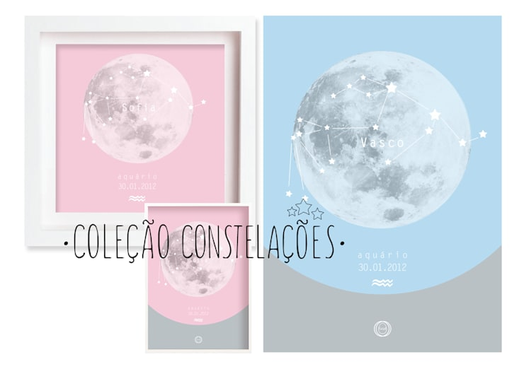 Constelações - Constellations: Casa  por MyNest