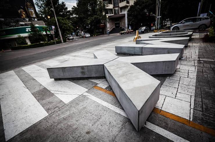 Banca CDMX: Casas de estilo  por Miguel de la Torre Arquitectos