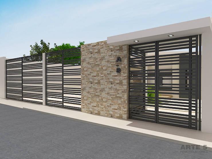 Casas de estilo minimalista por Arte 5 Remodelaciones