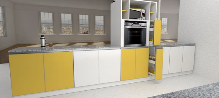 Kitchen by X Design Muebles