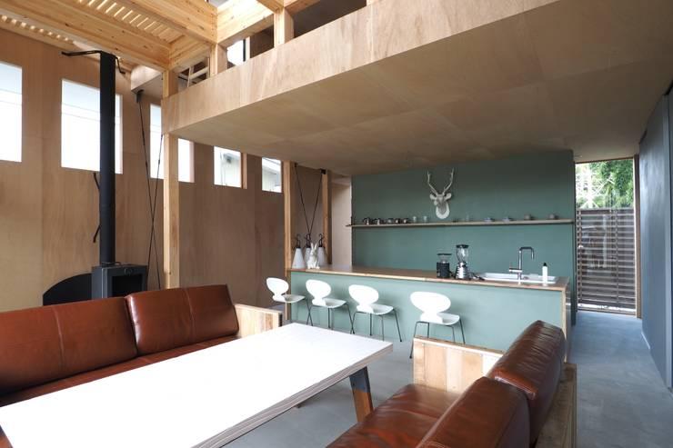 off glid house in yokohama: abanba inc.が手掛けた家です。