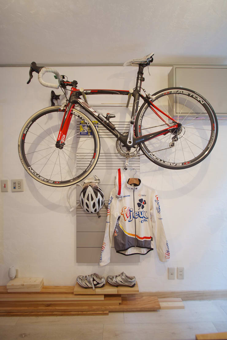 System Wall for Athletes: hamanakadesignstudioが手掛けた壁&床です。