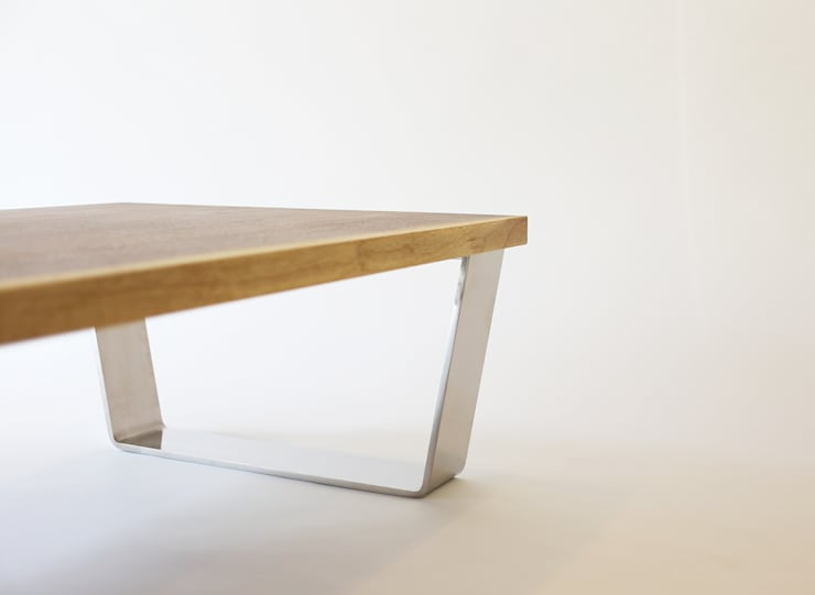LOW TABLE – SUS (LIMITED EDITION): Moon studio의 현대 ,모던