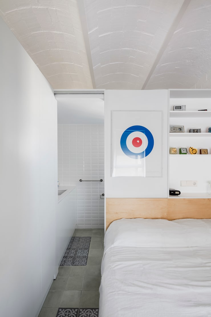 Dormitorios de estilo  por vora, Moderno