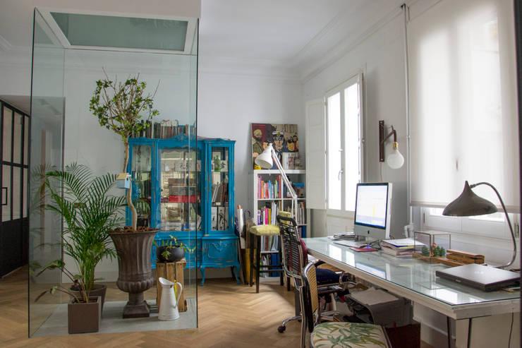 Viteri/Lapeña의  서재 & 사무실