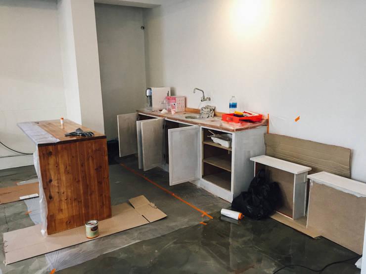 DIY 부엌 하부장 만들기 : 바라다봄 스튜디오의