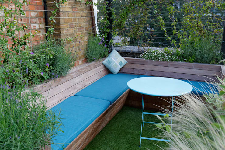 Pimlico - Terraza: Jardines de estilo moderno de JoanMa Roig / Paisatgista
