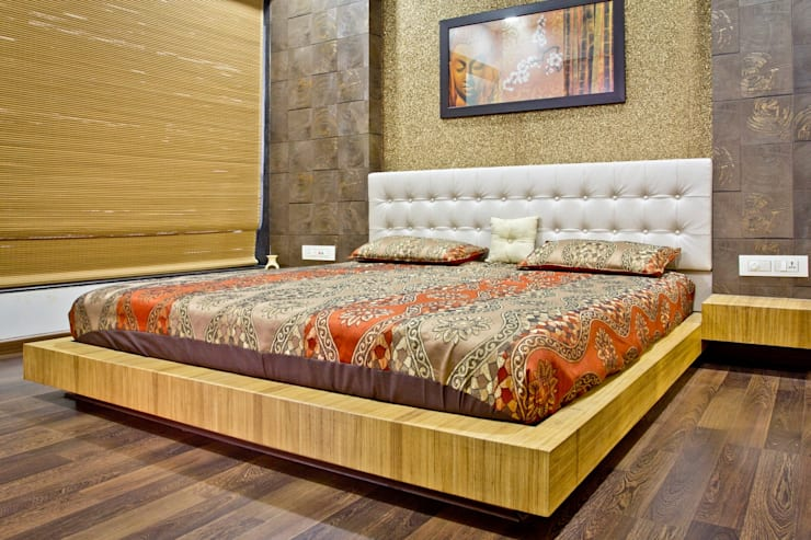 SPARSH:  Bedroom by PADARRPAN ARCHITECTS