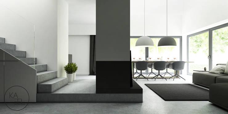 PIEKARSKIEGO: styl , w kategorii Salon zaprojektowany przez KAEL Architekci