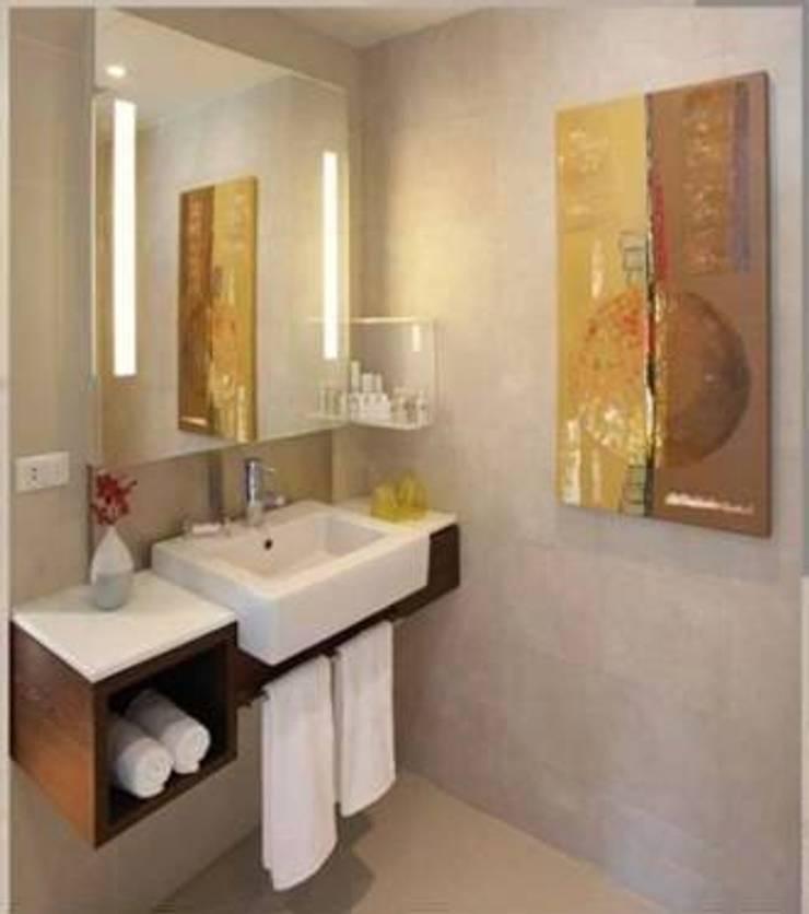 SANKALP:  Bathroom by PADARRPAN ARCHITECTS