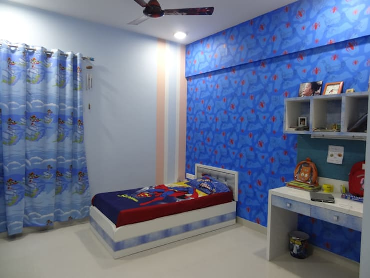 Mr.Gunjan Sharma:  Nursery/kid's room by UNIQUE DESIGNERS & ARCHITECTS