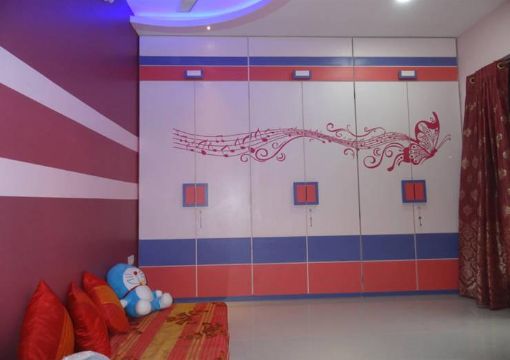 Mr. Pramod Joshi: modern Nursery/kid's room by UNIQUE DESIGNERS & ARCHITECTS