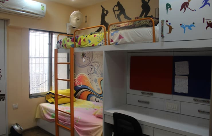 Mr.Pramod Chaudhary at Cosmos Horrizon:  Nursery/kid's room by UNIQUE DESIGNERS & ARCHITECTS