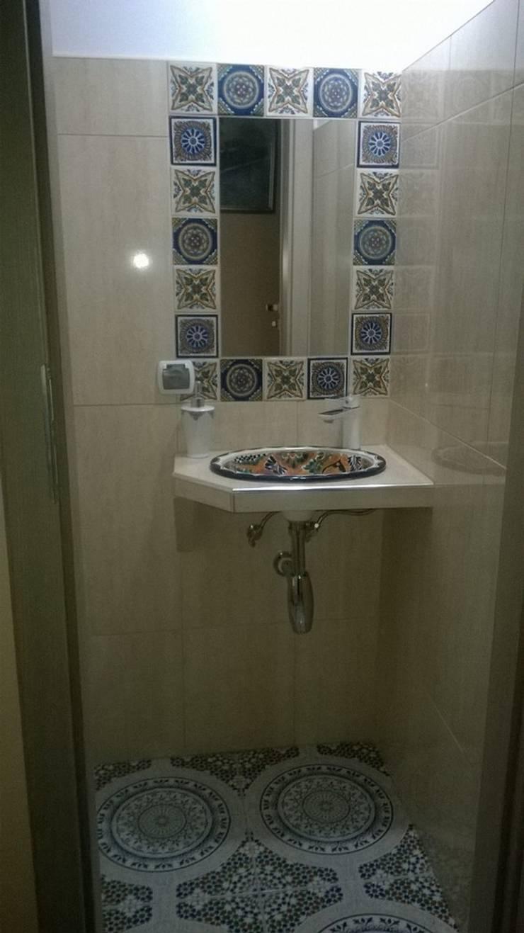 Płytki ceramiczne Touska: styl , w kategorii Łazienka zaprojektowany przez Kolory Maroka