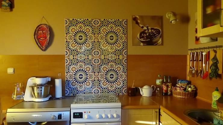 Płytki ceramiczne: styl , w kategorii Kuchnia zaprojektowany przez Kolory Maroka