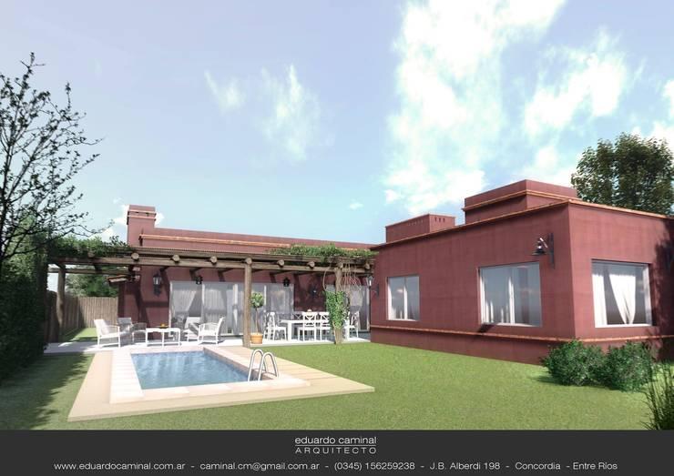 Jardines de estilo  por Eduardo Caminal Arquitectura