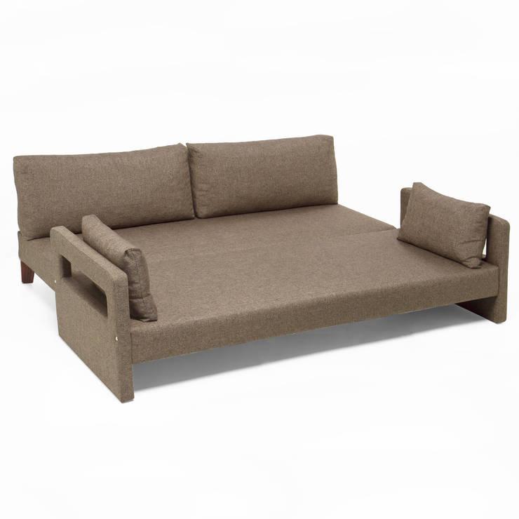 K105 Mobilya Pazarlama Danışmanlık San.İç ve Dış Tic.LTD.ŞTİ. – Comfort Yaşam Serisi Yataklı Kanepe: modern tarz Oturma Odası