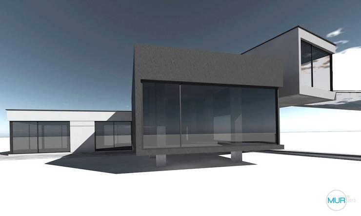 Casa Alexander:  de estilo  por Hugo Mur Arquitecto