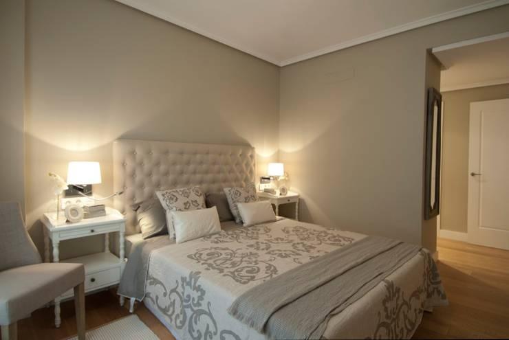 غرفة نوم تنفيذ Sube Susaeta Interiorismo