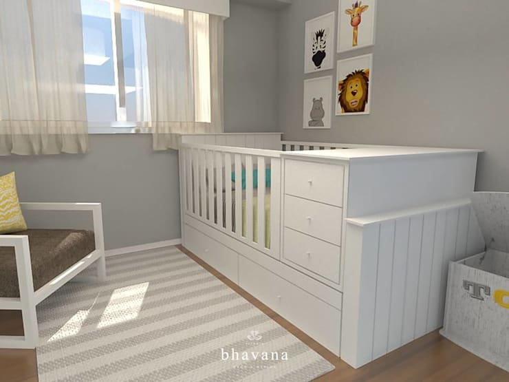 Habitación: Dormitorios infantiles de estilo  por Bhavana