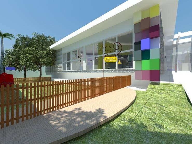Colégio Estímulo: Escolas  por DecorArquitetura - Luciana Corrêa e Elaine Delegredo,