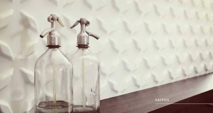 Saiphs: Paredes y pisos de estilo  por Escuadra Arquitectura C.A
