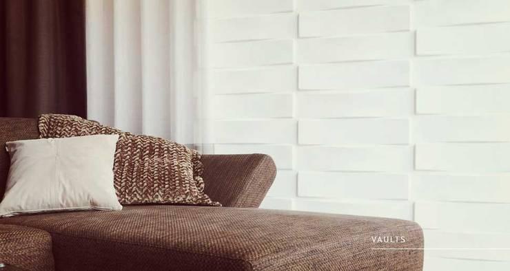 Vaults: Paredes y pisos de estilo  por Escuadra Arquitectura C.A