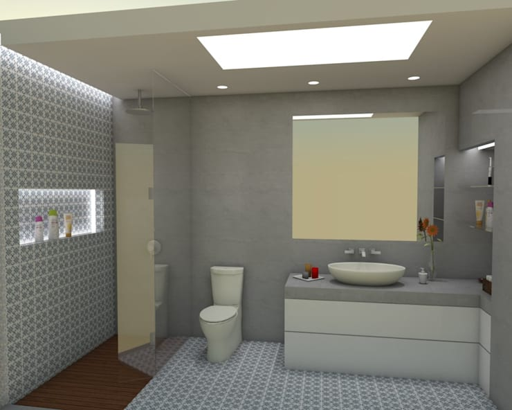 Instalações sanitárias:   por Quero Fazer Obras - Construção e Reabilitação Lda